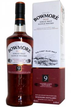 Bowmore - 9 years old - Sherry casks matured