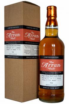 Arran - Cream Sherry cask - 2006