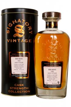 Signatory 'Cask Strength Collection' Ben Nevis 1992 - 19 years o