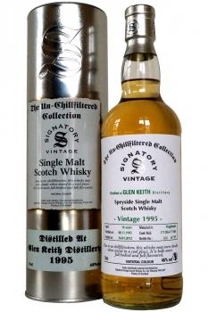 Signatory 'Un-Chillfiltered Collection' Glen Keith 1995 - 16 yea