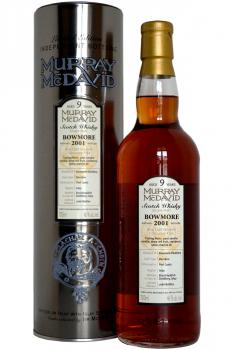 Murray McDavid 'Independent Bottling' Bowmore 2001 9 years old