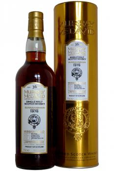 Murray McDavid 'Mission Gold' Bunnahabhain 1978 - 36 years old