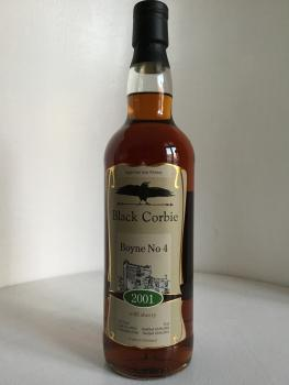 Black Corbie Boyne No4 2001 Irisch Whiskey