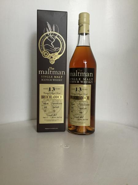The Maltman - Bruichladdich 2002 - 2016 13 years old